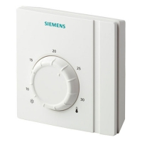 Комнатные термостаты Siemens RAA21 для отопления/охлаждения