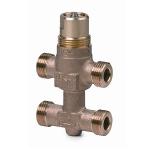 Резьбовые клапаны 3-ходовые c байпасом Siemens VMP45